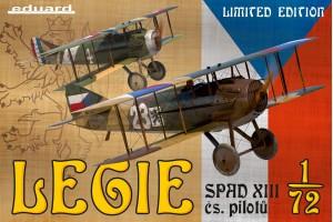 Legie - SPAD XIII čs. pilotů (1:72) - 2126