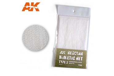 Bílá kamuflážní síť, typ 2 (CAMOUFLAGE NET WHITE TYPE 2) - AK8063