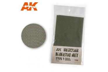 Polní zelená kamuflážní síť, typ 1 (CAMOUFLAGE NET FIELD GREEN TYPE 1) - AK8066