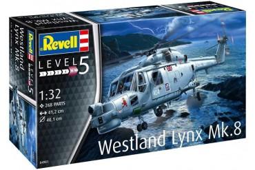 Plastic ModelKit vrtulník 04981 - Westland Lynx Mk. 8 (1:32)