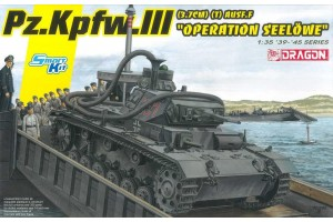 "Model Kit tank 6877 - Pz.Kpfw.III (3.7cm) (T) Ausf.F """"OPERATION SEELÖWE"""" (1:35)"