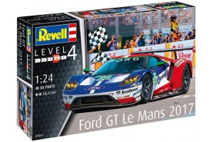 Plastic ModelKit auto 07041 - Ford GT Le Mans 2017 (1:24)