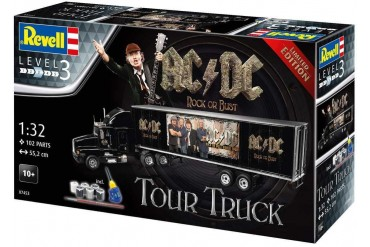 "Gift-Set truck Limited Edition 07453 - Truck & Trailer ""AC/DC"" (1:32)"