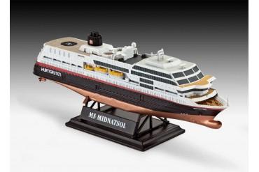 Gift-Set loď 05692 - 125 Years Hurtigruten TROLLFJORD & MIDNATSOL (1:1200)