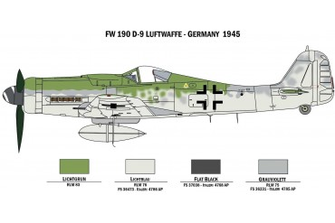 Model Kit War Thunder 35101 - BF109 F-4 and FW 190 D-9 (1:72)