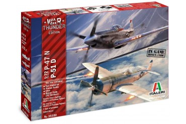 Model Kit War Thunder 35102 - P-47 N and P-51 D (1:72)