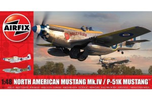 North American Mustang Mk.IV (1:48) - A05137
