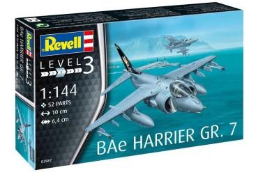 Plastic ModelKit letadlo 03887 - BAe Harrier GR.7 (1:144)