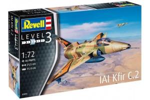 Plastic ModelKit letadlo 03890 - Kfir C-2 (1:72)