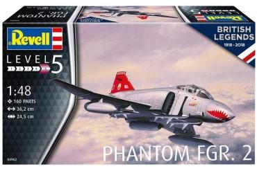 Plastic ModelKit letadlo 04962 - British Phantom FGR Mk.2 (1:48)