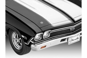 Plastic ModelKit auto 07662 - 1968 Chevy Chevelle (1:25)