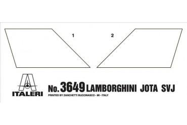 Model Kit auto 3649 - Lamborghini Miura Jota SVJ (1:24)