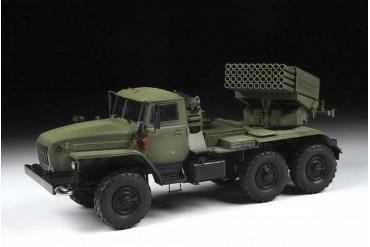 Model Kit military 3655 - BM-21 Grad Rocket Launcher (1:35)