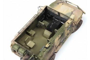 Model Kit military 3683 - GAZ Tiger w/Arbalet (1:35)