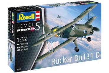 Plastic ModelKit letadlo 03886 - Bücker Bü131 Jungmann (1:32)