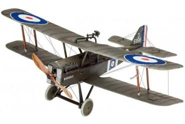 ModelSet letadlo 63907 - British Legends - British S.E. 5a (1:48)