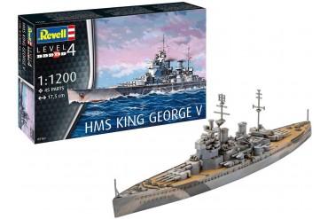 ModelSet loď 65161 - HMS King George V (1:1200)