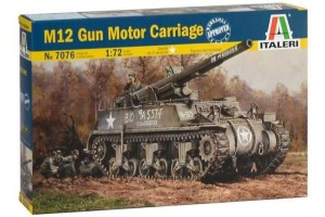 Model Kit tank 7076 - M12 Gun Motor Carriage (1:72)