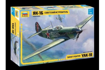 Model Kit letadlo 4817 - YAK-1B Soviet Fighter (1:48)