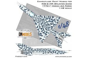 Mask set - MiG-21 Czech Splinter 7701 (1:48) - 48/827-058