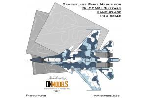 Mask set - Su-30MKI Blizzard Flanker (1:48) - 48/827-048