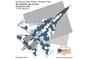 Mask set - Su-30MKI Blizzard Flanker (1:72) - 72/827-024