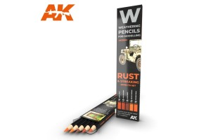Rust and Streaking: effects set - AK10041