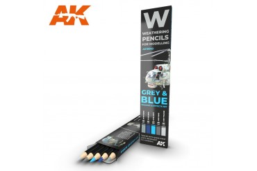 Grey and blue: shading and effects set - AK10043