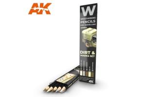 Dirt: marks set - AK10044