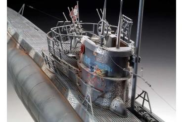Plastic ModelKit ponorka Limited Edition 05163 - German Submarine Type VII C/41 (Platinum Edition) (1:72)