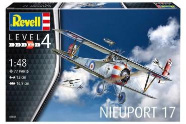 Plastic ModelKit letadlo 03885 - Nieuport 17 (1:48)