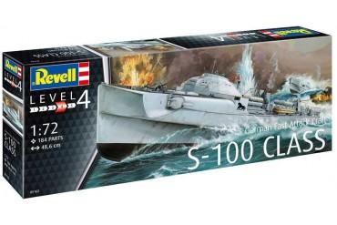 Plastic ModelKit loď 05162 - German Fast Attack Craft S-100 CLASS (1:72)