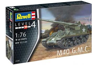 Plastic ModelKit tank 03280 - M40 G.M.C. (1:76)