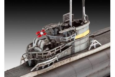 ModelSet ponorka 65154 - German Submarine Type VII C/41 (1:350)