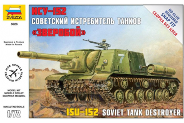 Self Propelled Gun ISU-152 (1:72) - 5026