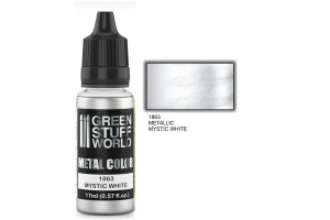 Mystic White Metalic - 17ml - 1863