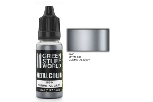 Gunmetal Grey Metalic - 17ml - 1860
