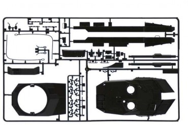 Model Kit tank 6567 - Leopard 2A6 (1:35)