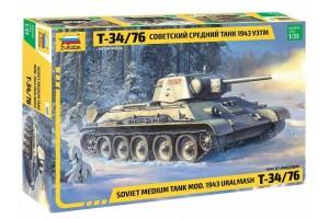 T-34/76 mod.1943 Uralmash (1:35) - 3689