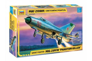 "Model Kit letadlo 7202 - MIG-21PFM ""PHANTOM KILLER"" (1:72)"