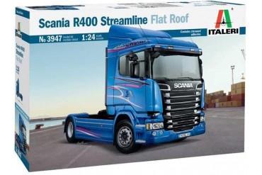 Model Kit truck 3947 - SCANIA R400 STREAMLINE Flat Roof (1:24)