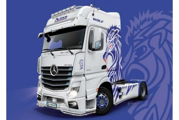 Model Kit truck 3935 - Mercedes-Benz ACTROS MP4 Giga Space (1:24)
