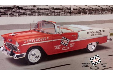 Plastic ModelKit auto 07686 - '55 Chevy Indy Pace Car (1:25)