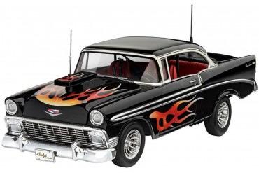 Plastic ModelKit auto 07663 - '56 Chevy Customs (1:24)