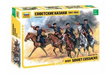 Model Kit figurky 3579 - Soviet Cossacks (RR) (1:35)
