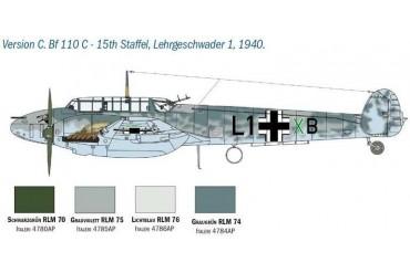 Model Kit letadlo 2794 - BF 110 C/D (1:48)