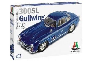 Model Kit auto 3645 - Mercedes Benz 300 SL Gullwing (1:24)