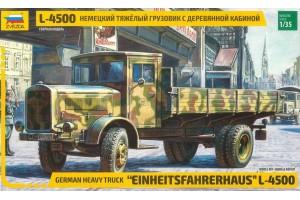 Model Kit military 3647 - L-4500 Einheitsfahrerhaus (RR) (1:35)