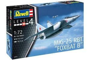 Plastic ModelKit letadlo 03878 - MiG-25 RBT (1:72)