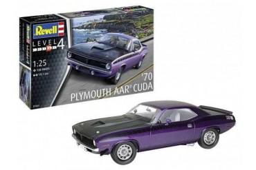 Plastic ModelKit auto 07664 - '70 Plymouth AAR Cuda (1:25)